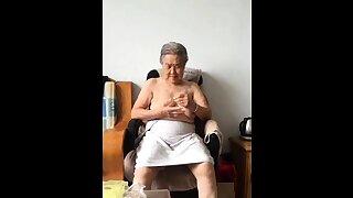 Asian 80+ Granny..