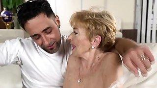 Dick loving granny..