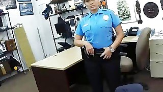 Law enforcer gets banged..