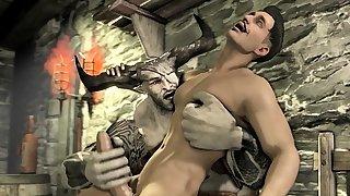 Naked Skyrim human..