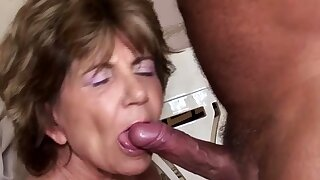 hairy old mom anal..