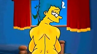 Marge Simpson anal..