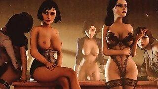 3D Futa Ladies..