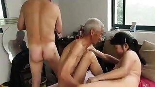 Asian Grandpas in..